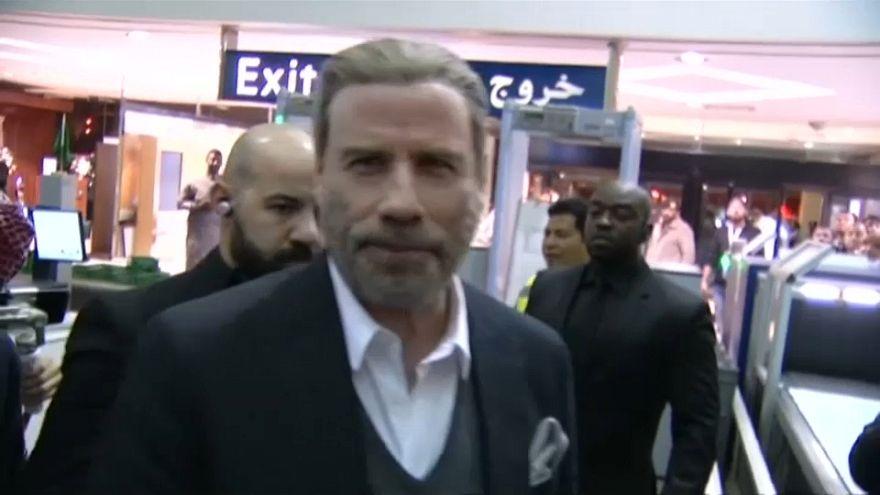 نجم السينما الأمريكية جون ترافولتا في السعودية