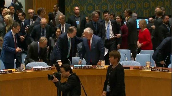 """Tillerson: """"Corea la smetta con i test"""""""