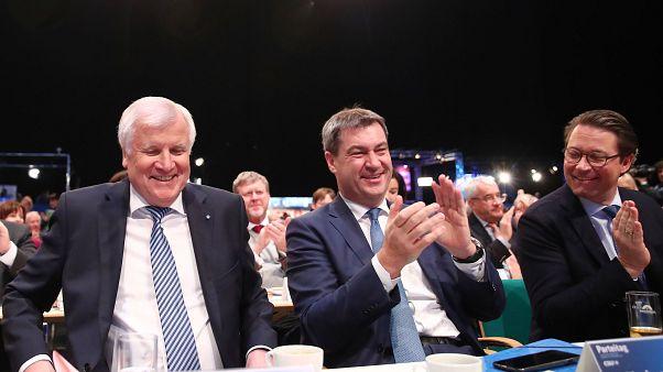 CSU-Chef Horst Seehofer wiedergewählt