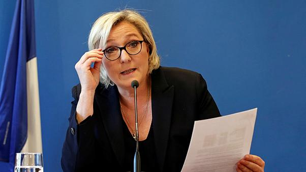 Marine Le Pen, head of France's far-right National Front