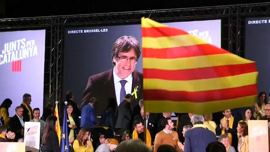 Puigdemont seçim kampanyasına hız verdi