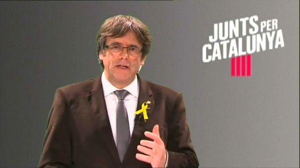 Puigdemont: Wahlkampf aus Brüssel