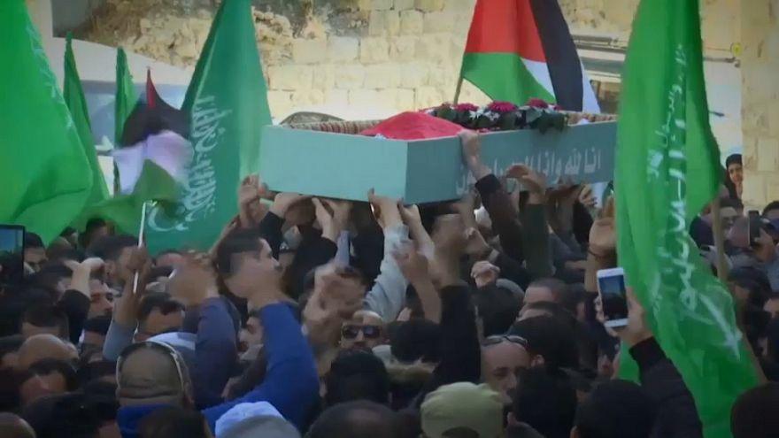 Duelo en los territorios palestinos por los fallecidos en el 'Viernes de la Ira'
