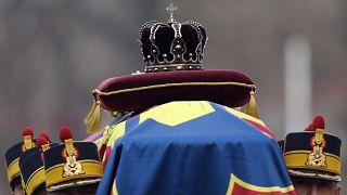 Obsèques de l'ex-roi Michel de Roumanie