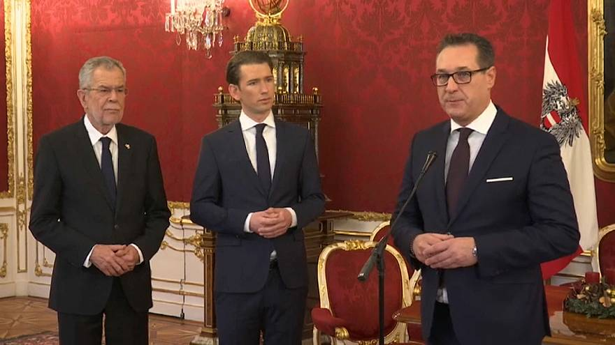 Austrian president approves coalition with the far-right