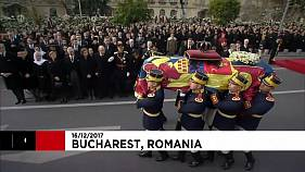 Último adiós al rey Miguel I de Rumanía