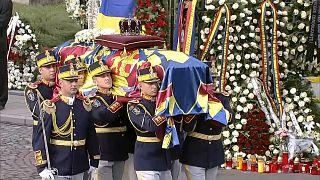 Похороны короля Михая I