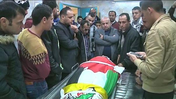 Палестина хоронит убитых радикалов