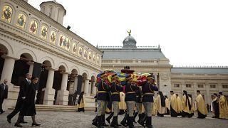 Dernier hommage de la Roumanie à son ex-roi Michel