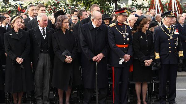 Roumains et têtes couronnées rendent hommage à l'ex-roi Michel