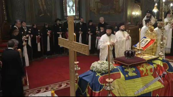 Búcsú a román királytól
