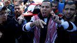Funérailles à Gaza après un jour de colère