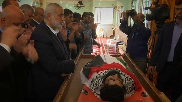 Filistinli genç toprağa verildi