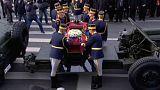Romania, funerali di Stato per l'ex Re Michele I