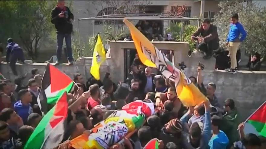 Funerals held for four more Palestinians killed in clashes