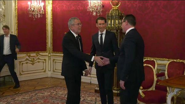 Avusturya'da hükümet kuruldu