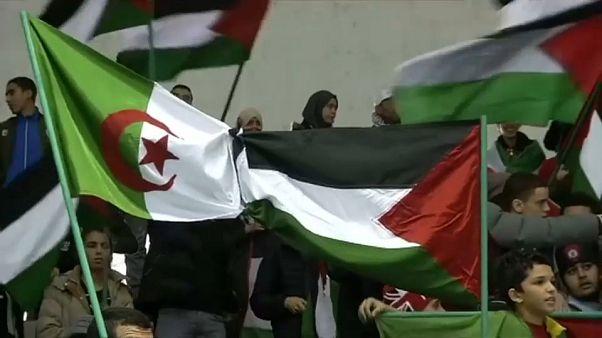 الجزائر تتضامن مع القدس وفلسطين