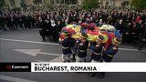 Milhares despedem-se do Rei Miguel da Roménia