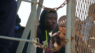 MIgranti riportati in Libia
