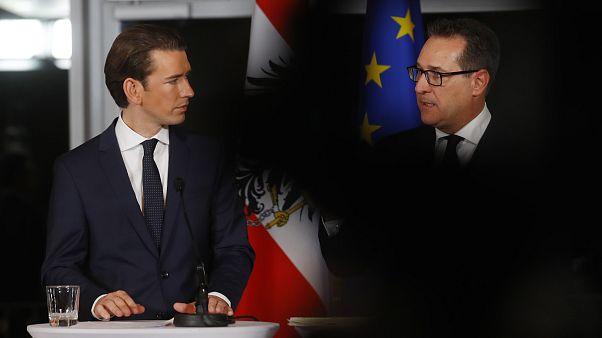 Le gouvernement autrichien dévoile sa feuille de route