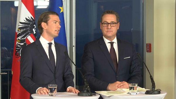 Австрия: сформировано правительство