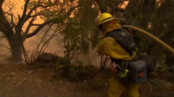 California burns as Thomas fire becomes state's third-largest