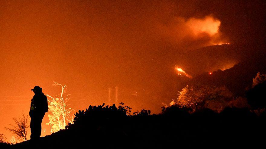 Incendie en Californie : nouvelles évacuations à Santa Barbara