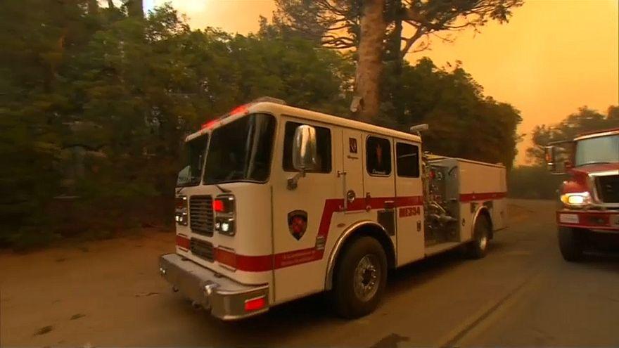 Incêndio na Califórnia é terceiro maior de sempre