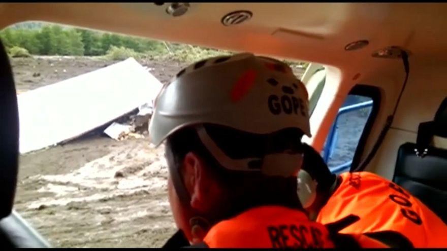 Varios muertos y desaparecidos en un alud de tierra en la Patagonia chilena