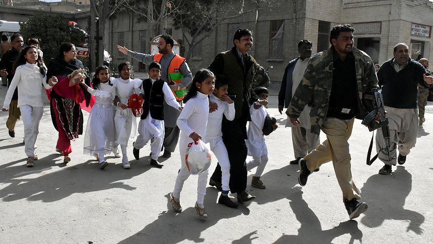 اعتداء على كنيسة في باكستان بكويتا
