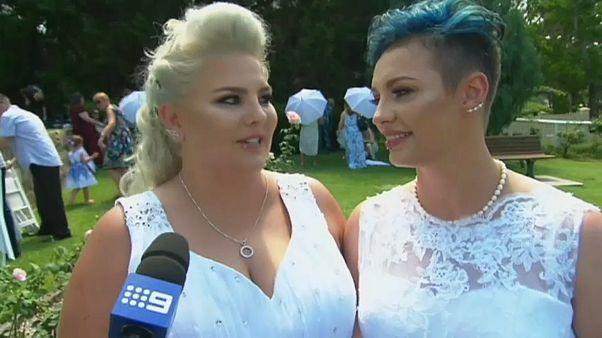 أول زواج مثلي رسمي في أستراليا