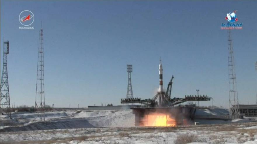 Spazio: partita Soyuz con nuovo equipaggio ISS