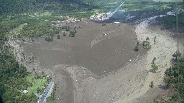 Разрушительный сель в Чили