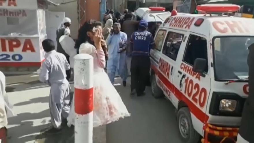 Christian church attacked in Quetta, Pakistan