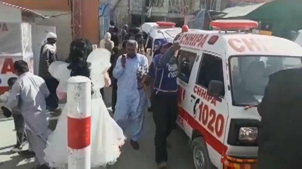 Atentado en una iglesia en Pakistán