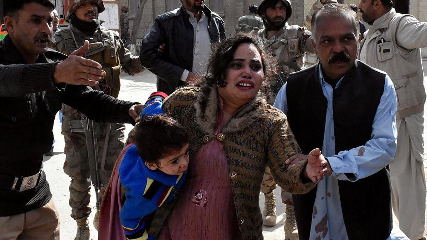 Нападение на церковь в Кветте