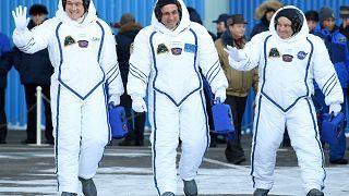 Σε ασφαλή τροχιά το νέο πλήρωμα του Διεθνούς Διαστημικού Σταθμού