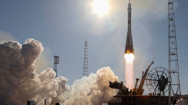 Soyuz yola çıktı
