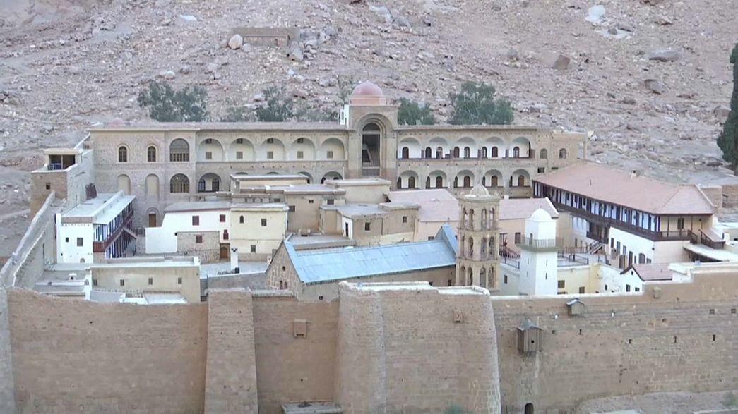 إعادة افتتاح أقدم مكتبة دينية تاريخية في أقدم دير في العالم