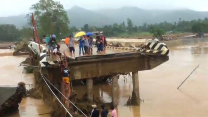 La tormenta tropical Kaitak causa estragos en Filipinas