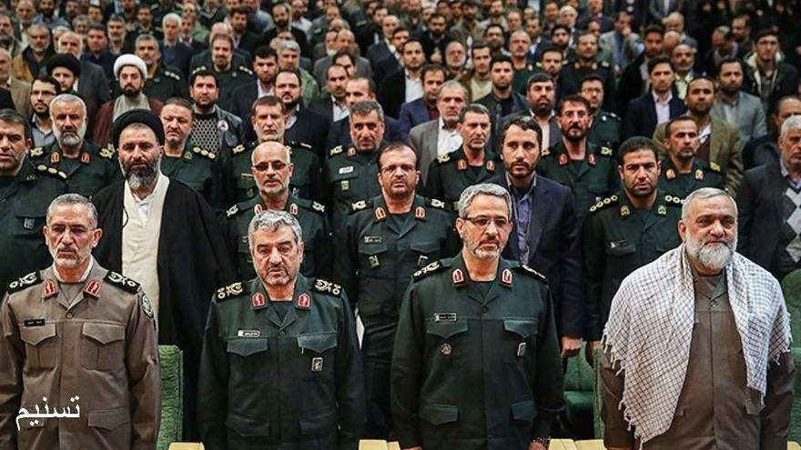 Basij commander Valedictory Ceremony and introduction