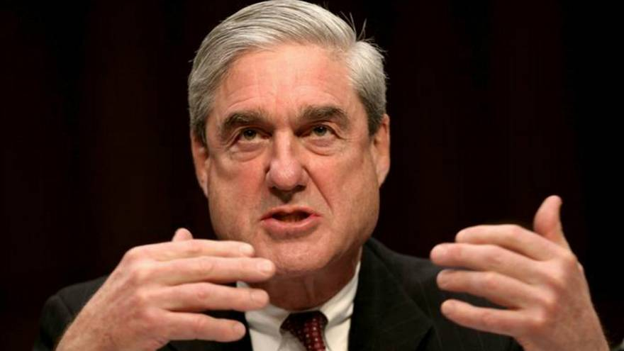 Then FBI Director Robert Mueller testifies at a Senate Intelligence Committ