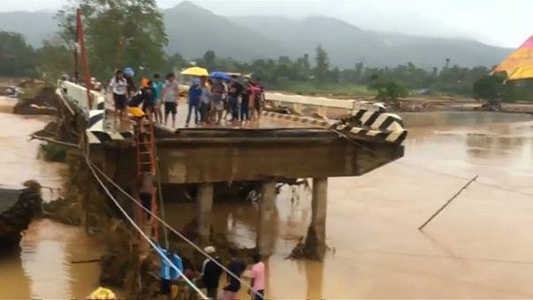 Dramatiques inondations aux Philippines