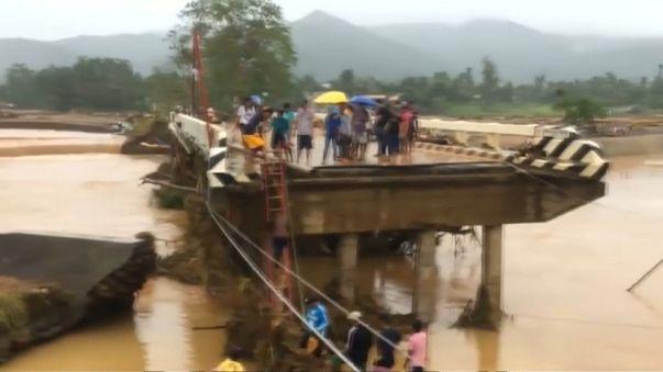 Viele Tote bei Tropensturm auf Philippinen
