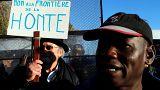 Marche de solidarité aux migrants à la frontière franco-italienne