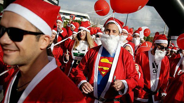 Επιτυχημένο το 4ο Santa Run Athens