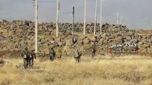 القوات السورية تسيطر على التلال الإستراتيجية  في ريف دمشق الجنوبي الغربي