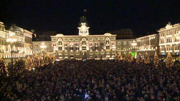 Trieste: sfuma il record di valzer più partecipato, solo 1.292 coppie