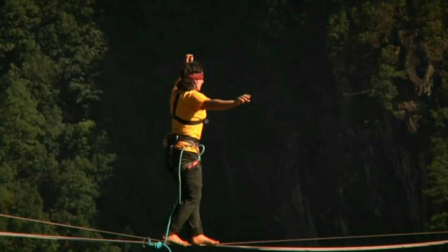 China-SLACKLINING_RECORD