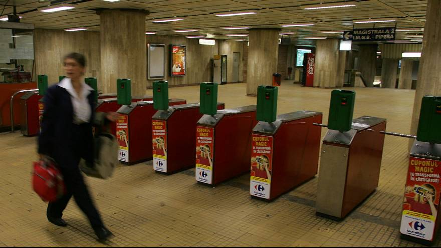 Fear on Bucharest's metro after woman pushed in front of metro train